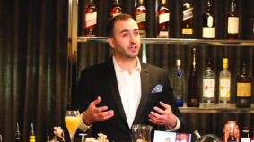 World Class Cocktail Lesson featuring Chris Enns and Johnnie Walker Black Label Scotch Whisky