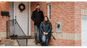 This couple felt cramped in their downtown condo. So they upsized to a $585,000 Scarborough townhouse