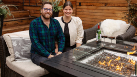 This Trinity Bellwoods couple spent $75,000 transforming their new backyard into a cozy retreat