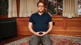 """""""I started hosting daily meditation sessions on YouTube"""": How an assistant professor at U of T is helping himself (and his subscribers) get through Covid"""