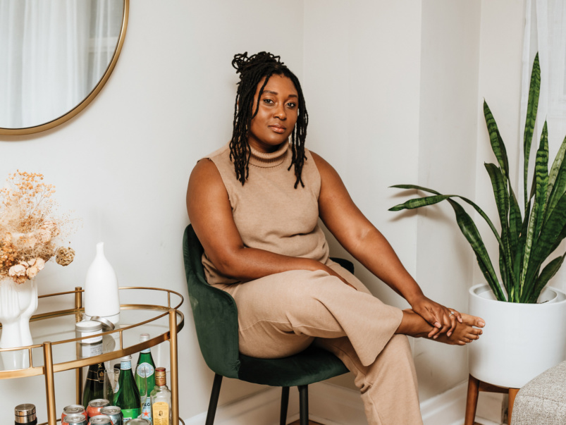 """I started a yoga hub for Black women"": This entrepreneur found a way to make wellness affordable and inclusive"