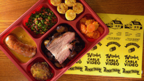 A Toronto brew pub has teamed up with Montreal's Joe Beef to create the best TV dinner tray of all time