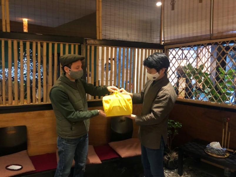 Where Frilu chef John-Vincent Troiano gets takeout ravioli, yakitori and bento boxes