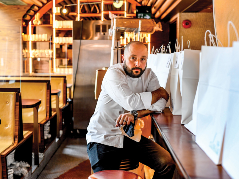 Inside the mind-bending business of keeping a restaurant alive during a pandemic: a memoir from Toronto's top chef