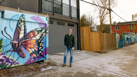 This guy built a $330,000 laneway house. Now he's renting it out for $1,800 a month