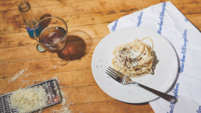 Quarantine Cuisine: How to make Dova's Sicilian spin on cacio e pepe at home
