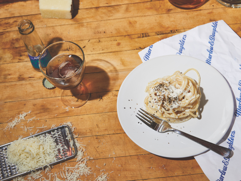 Quarantine Cuisine: How to make Dova's Sicilian spin on cacio e pepe at home