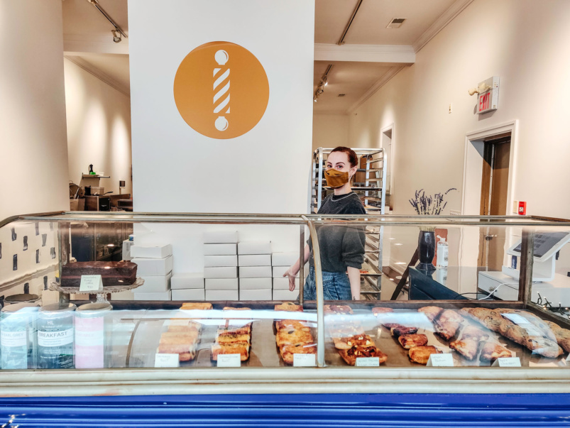 What's on the takeout menu of Barbershop Patisserie, Jill Barber's new puff pastry palace