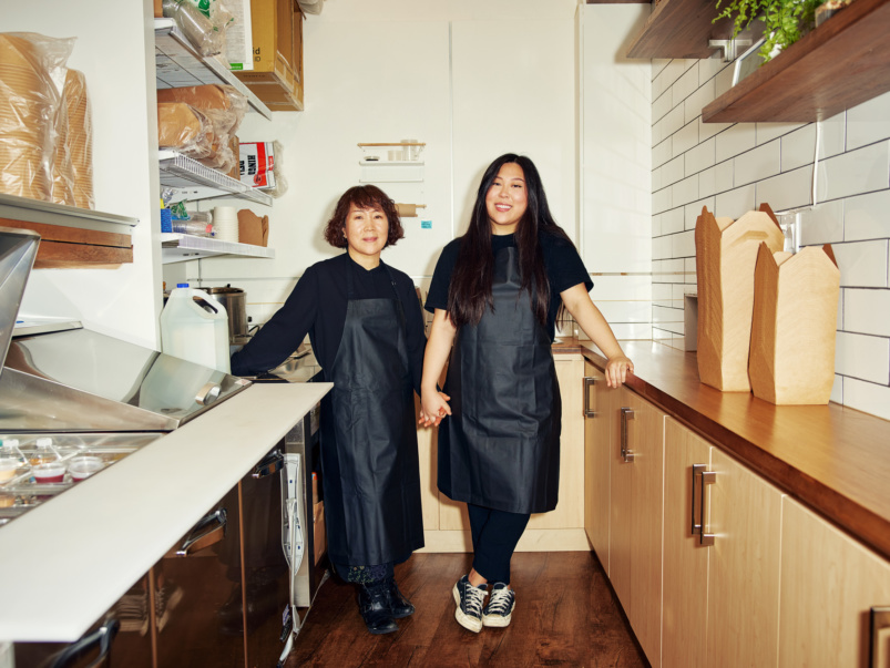 """By the end of the first month, we'd made triple our rent"": This ex–PR pro teamed up with her mom to open a Korean restaurant during Covid"