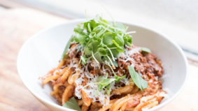 What went down at our virtual ragu alla bolognese cooking class with chef Lauren Mozer
