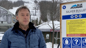 """It just doesn't make sense"": Blue Mountain resort president Dan Skelton on the postponement of ski season"