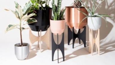 Ten plant pots, hangers and other paraphernalia to spruce up your green space