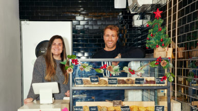 """It started with a midnight snack"": These roommates launched a cookie company during the pandemic"