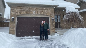 This couple wanted to ditch the city for more nature. They found a $600,000 home in Collingwood