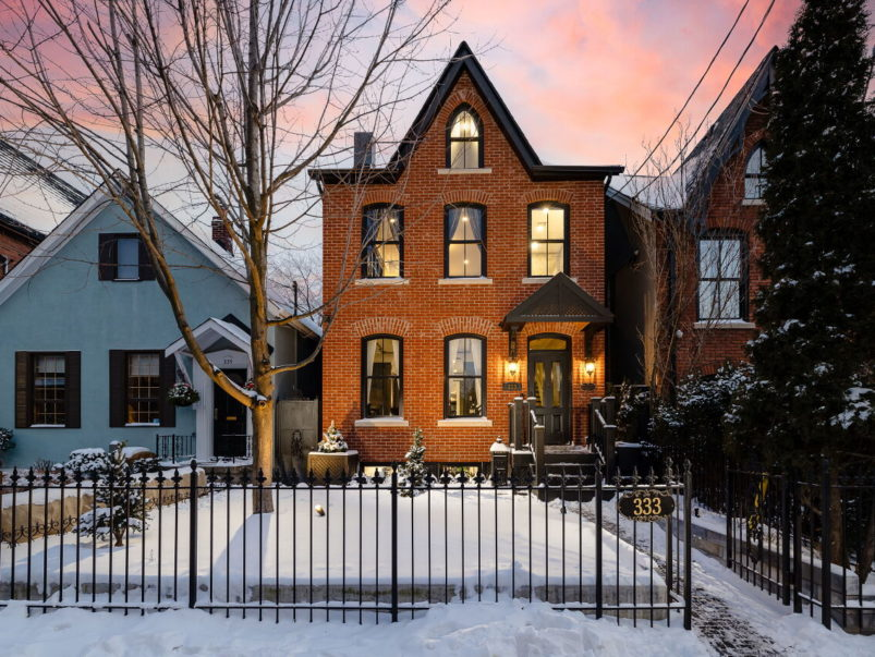 House of the Week: $3.6 million for a Cabbagetown heritage home with a rooftop hot tub