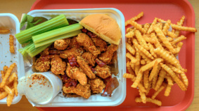 Sort-of Secret: Centre Ice Hot Wings, a chicken wing pop-up run out of a burger joint