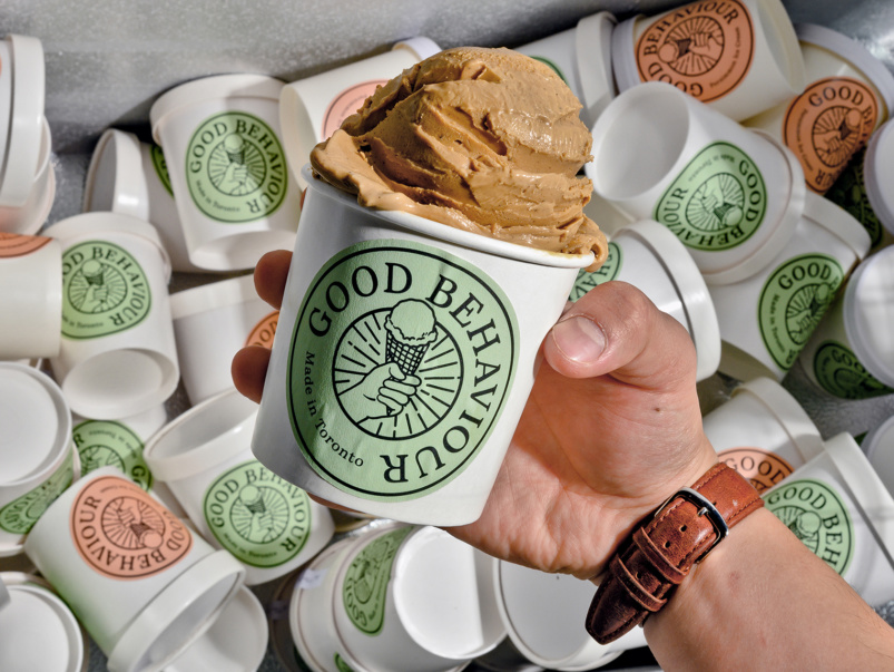 Sort-of Secret: Good Behaviour, a small-batch creamery churning out super-seasonal pints of ice cream