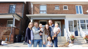 These families just co-purchased a $900,000 semi in Mount Dennis. Now they're learning how to live together