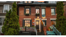 House of the Week: $2.3 million for a Victorian semi in the Annex with a backyard WFH retreat