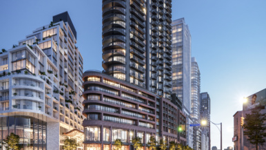 Galleria on the Park continues to define urban living through their newest addition, Air
