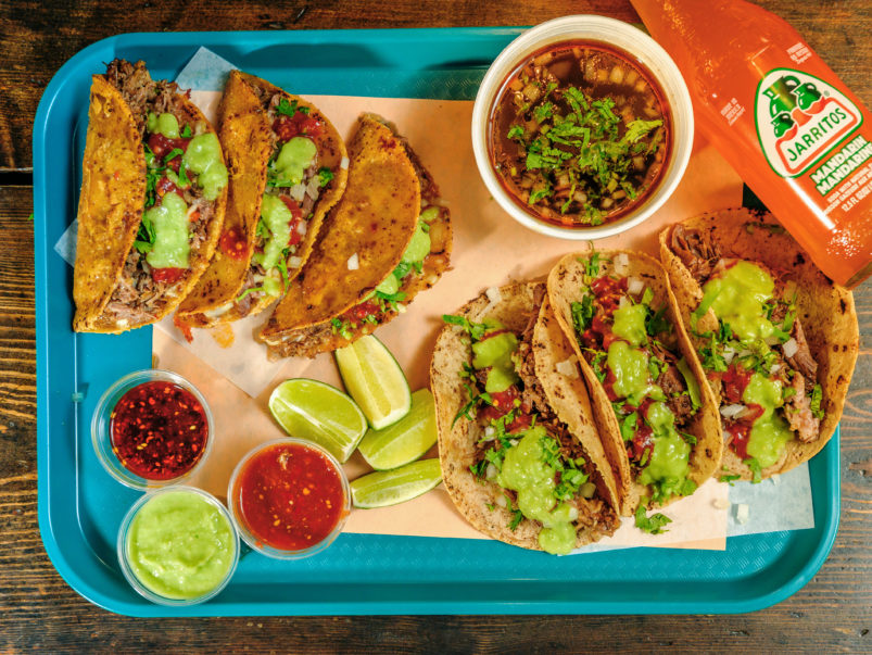 What's on the takeout menu at Birria Balam, a new downtown pop-up for birria tacos