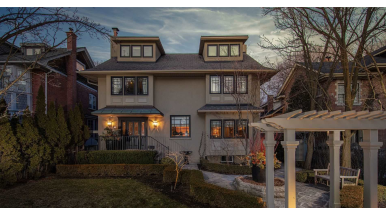 House of the Week: $6 million for a Casa Loma home with a groovy backyard gazebo
