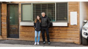 A Toronto builder turned his garage into a $400,000 laneway house. Now his daughter lives back there