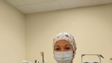 Meet UHN's Ruane Sale, a respiratory therapist working on the frontlines