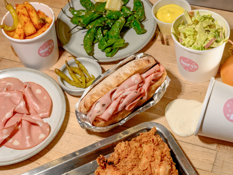 Sort-of Secret: Morts, a new mortadella sandwich business from Il Covo chef Ryan Campbell