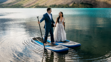 Real Weddings: Inside a sunrise elopement in the Rockies