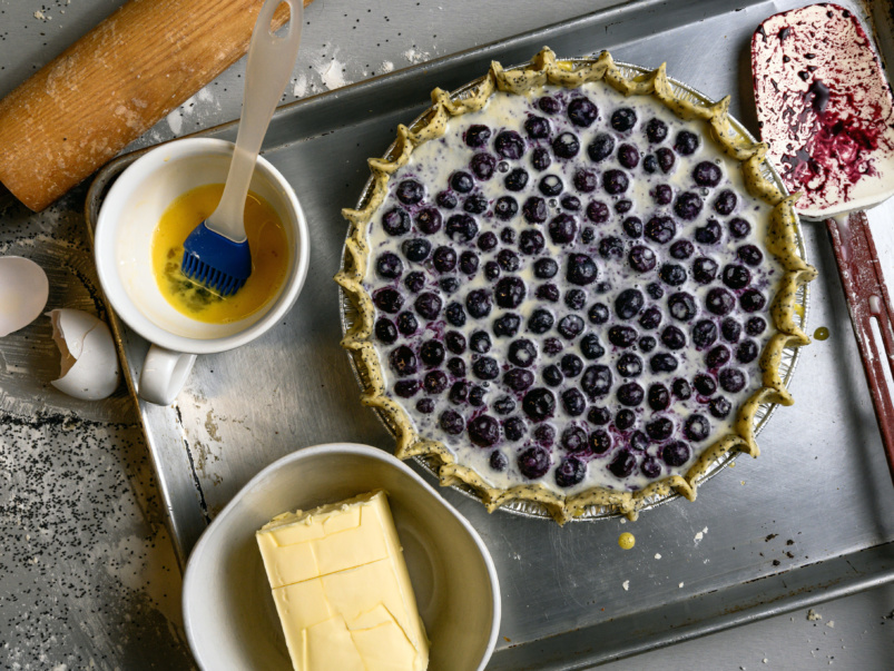 Sort-of Secret: The New Pie Company, a two-person operation baking up whimsical pies once a week