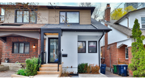 A Toronto couple listed their midtown semi for $1.6 million. After 16 offers, it sold for $600,000 over asking