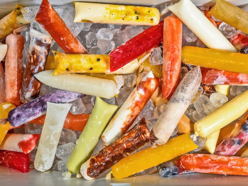 Un po' di segreto: Gladona freeze, un gelato artigianale con divertenti sapori brasiliani come acai, frutto della passione, guava e avocado