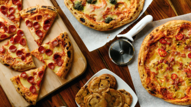 Sort-of Secret: Good Wheel Pizza, a frozen pizza start-up that delivers bake-at-home sourdough pies