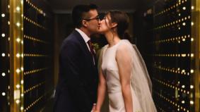 Real Weddings: Inside an elegant micro-wedding at the Kimpton Saint George