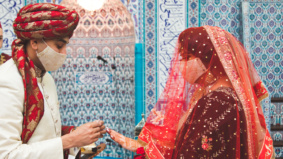 Real Weddings: Inside a thrice-rescheduled Pakistani-Canadian ceremony at a Mississauga mosque
