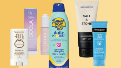 The best sunscreen picks for every type of warm-weather activity