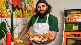 What's on the menu at Woofdawg, a new takeout counter in the west end serving house-made hot dogs
