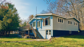 A Burlington waitress won the lottery in 1996 and bought this Muskoka cottage for $335,000