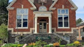 The Bracebridge Library offers free Wi-Fi in its parking lot