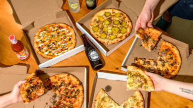 What's on the takeout menu at Conspiracy Pizza's new Leaside location