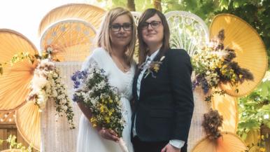 Real Weddings: Inside a boho backyard wedding in Etobicoke