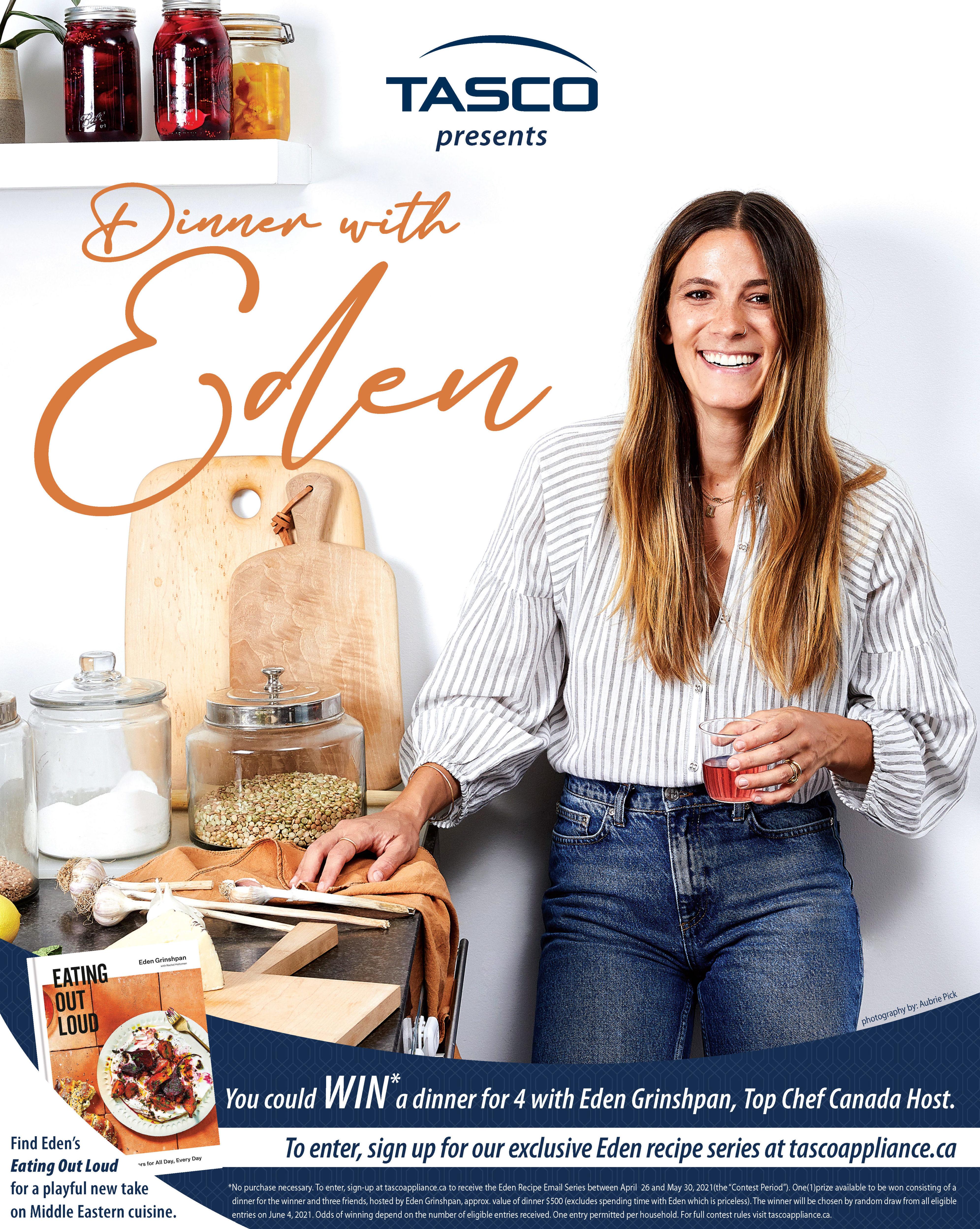 Dinner with Eden