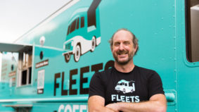 This Torontonian transformed his coffee truck into a mobile vaccine clinic