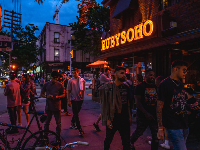 """""""We're now booked solid every weekend until mid-July"""": What reopening is like for the city's busiest patios"""
