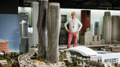 The man who built a $24-million miniature replica of Canada