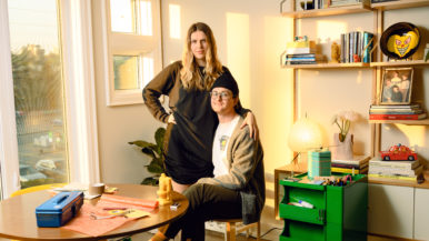 """""""Companies began reaching out to ask for custom orders"""": This couple started making kitschy beeswax candles during the pandemic"""
