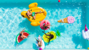 Start your summer off strong with a Coors Slice private pool party