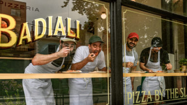What's on the menu at Pizzeria Badiali, a new west-end spot inspired by New York's classic by-the-slice joints