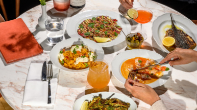 What's on the menu at Toronto Beach Club, the new lakeside lounge and patio at Woodbine Beach